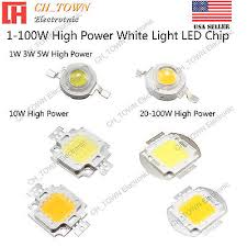 High Power 1W <b>3W 5W 10W 20W</b> 30W 50W 100W White SMD LED ...