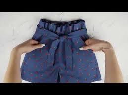 Как сшить летние <b>шорты</b> Саманта с поясом - YouTube