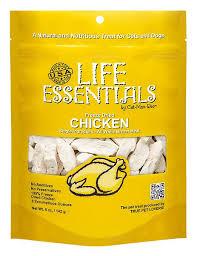 <b>Life Essentials</b> Chicken <b>Freeze</b>-<b>Dried</b> Cat & Dog Treats, 5-oz bag ...