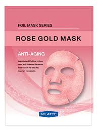 <b>Антивозрастная тканевая маска для</b> лица Rose Gold Mask Anti ...