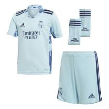 <b>Real Madrid</b> Mini Home GK Kit 20-21 Ice <b>Blue</b> – <b>Real Madrid</b> CF ...