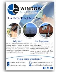 modern elegant window cleaning flyer designs for a window flyer design design 10635721 submitted to jg window cleaning flyer design closed