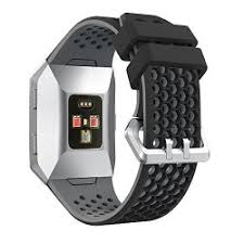 KaiCran Watchband <b>Lightweight Ventilate Silicone</b> Perforated ...