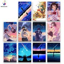 <b>DIY colorings pictures by</b> numbers with colors Japanese girl anime ...