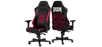 <b>Noblechairs</b> выпускает геймерское <b>кресло Hero</b> DOOM Edition ...