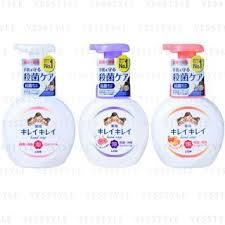 <b>LION Kireikirei</b> Medicated Foam Hand Soap 250ml - 3 Types ...