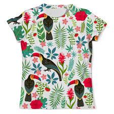 Купить футболка с полной запечаткой мужская <b>printio</b> птицы - не ...