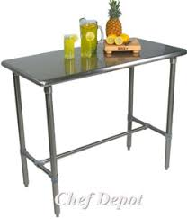 prep tables kitchen