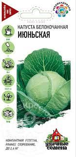 Семена Удачные <b>семена Капуста белокочанная Июньская</b> 0.5г
