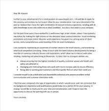 retail cover letter example template retail cover letter examples