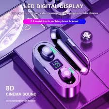 <b>F9</b> Mini Smart Touch <b>TWS</b> Wireless <b>Earphones Bluetooth Earphone</b> ...