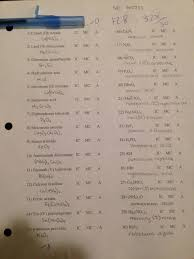 krone brad archive honors chemistry handouts due answer key for compounds quiz 1