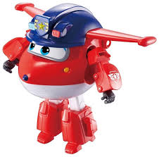 Трансформер Auldey <b>SUPER WINGS Джетт</b> (<b>команда</b> Полиции ...