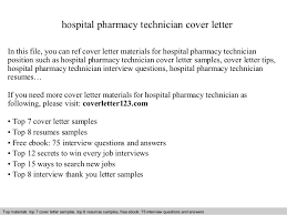 hospital pharmacy technician cover letter in this file you can ref cover letter materials for pharmacy technician cover letter