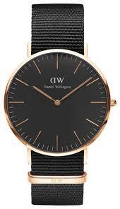 <b>Наручные часы</b> Daniel Wellington Classic Black Cornwall Rose <b>Gold</b>