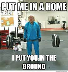 Weightlifting Granny | WeKnowMemes via Relatably.com