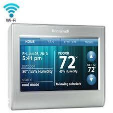 honeywell thermostats wi fi smart thermostat