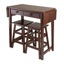 dining table with wheels:  small drop leaf kitchen island dining table with storage underneath for small space