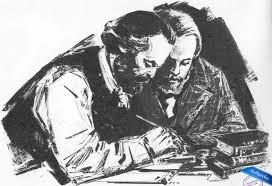 Resultado de imagen para Foto de Marx y Engels juntos