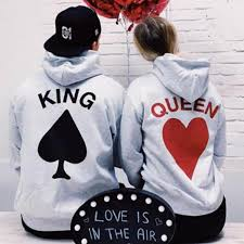 BKLD 2019 <b>New Fashion Couples</b> Matching Hoodies Women Men ...