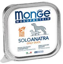 <b>Monge Dog</b> Monoprotein Solo <b>консервы</b> для собак паштет из утки ...