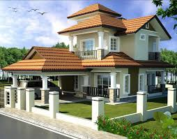 Double Storey Bungalow House With Plan   Home Design       n