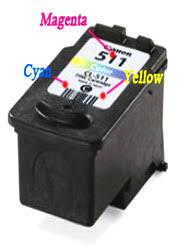 Инструкция по заправке <b>Canon CL</b>-<b>513</b>. - Руководства по заправке