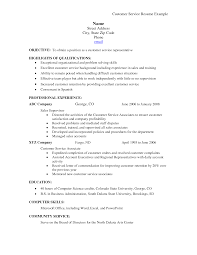 examples of customer service objectives on a resume examples cover letter examples of customer service objectives on a resume examples objectiveproblem solving skills resume example