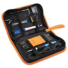 Inlife <b>60W</b> 110V Electronic <b>Soldering Iron Kit</b> with Carry Case Sale ...