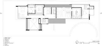 Gallery of FF House   Hernandez Silva Arquitectos   FF House First Floor Plan