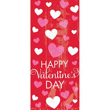 Bright Valentine's Day Treat Bags 20ct