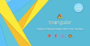 <b>Triangular</b> - Material Design Admin Template AngularJS by ...