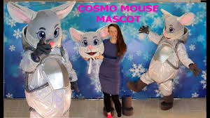 <b>Mascot costume</b> Mouse <b>Astronaut</b> | Suiting up cosmo Mouse ...