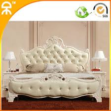 free shipping hot sale modern bedroom furniture design girls leather two beds with solid wood frame bed furniture design