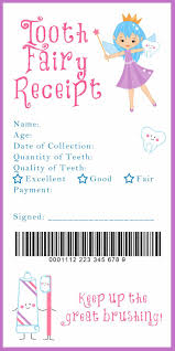 best ideas about babysitter printable tooth tooth fairy receipt and many other awesome printables