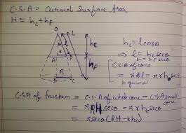 If the <b>curved surface</b> area of a frustum is 15/16 of the <b>curved surface</b> ...