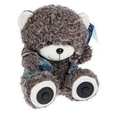 <b>Портативная колонка RITMIX ST-250</b> Bear BT Grey, 2х3Вт,MP3 ...