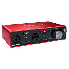 <b>Focusrite Scarlett 4i4</b> 3rd Gen купить по выгодной цене, usb <b>аудио</b> ...