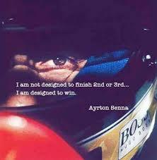Ayrton Senna quote | Sports | Pinterest | Ayrton Senna, Racing and ... via Relatably.com