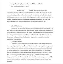 Child Support Agreement - 8+ Download Free Documents in PDF Child Support Mutual Agreement Template