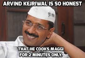 These Hilarious Memes Show How Much Arvind Kejriwal Loves His Maggi via Relatably.com
