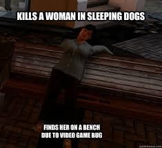 Sleeping Dog by cheezyzap memes | quickmeme via Relatably.com