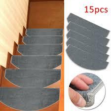 Home, Furniture & DIY <b>15PCS</b> Carpet <b>Stair Treads</b> Mats Step ...