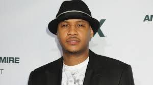 Carmelo Anthony made a creepy guest appearance on