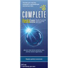 <b>Раствор COMPLETE</b> RevitaLens (240 ml + контейнер) — Салоны ...