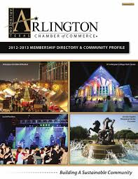 arlington tx membership directory and community profile by arlington tx 2012 membership directory and community profile