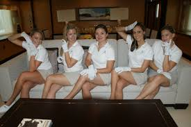 official yacht stewardess job descriptions and salaries including yacht stewardesses at work