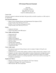 human resources resume examples human resource career skills and gallery of resume examples human resources