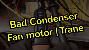 Condenser Fan Motor Replacement | Trane TWP - YouTube