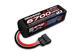 <b>Аккумулятор</b> 14.8V 6700mAh 25C LiPo TRX iD plug